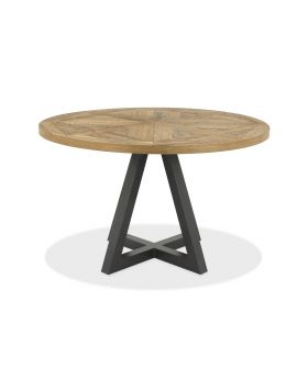 Bentley Designs Indus Circular Dining Table