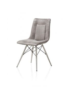 Habufa Marcella Spider Frame Dining Chair - Light Grey