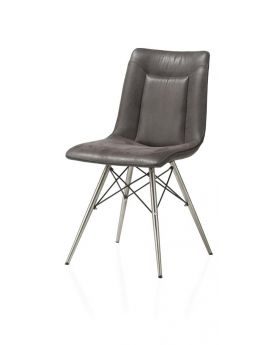 Habufa Marcella Spider Frame Dining Chair - Coffee