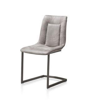 Habufa Marcella Swing Frame Dining Chair - Light Grey