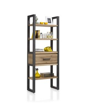 Habufa Brooklyn Bookcase with Drawer