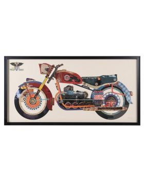 Motorbike Collage Picture