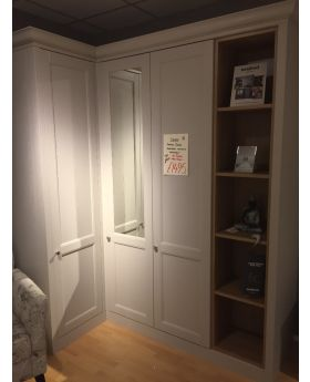 Kindred Corner Wardrobe inc Bookshelf