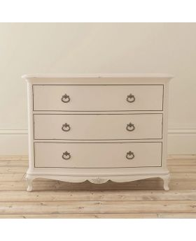 Willis and Gambier Ivory Bedroom 3 Drawer Low Chest
