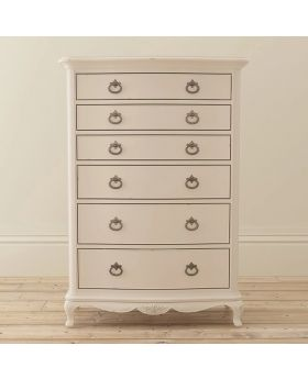 Willis and Gambier Ivory Bedroom 6 Drawer Chest