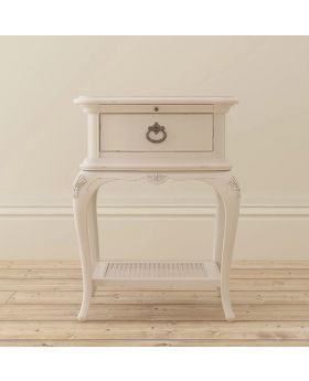 Willis and Gambier Ivory Bedroom 1 Drawer Bedside Chest