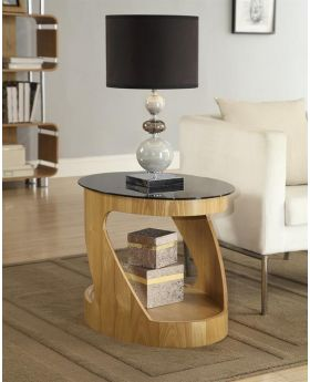 Jual JF304 Oak Lamp Table