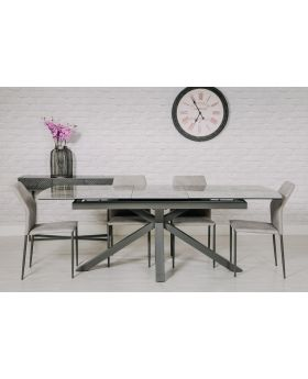 Jupiter Ceramic Extending Dining Table