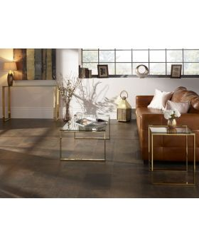 Serene Kayla Glass Coffee Table