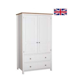 Devonshire Kenwith 2 Drawer Wardrobe