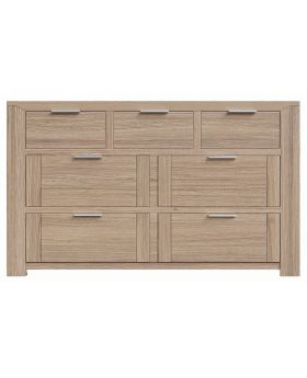 Laguna 3 Over 4 Drawer Wide Chest