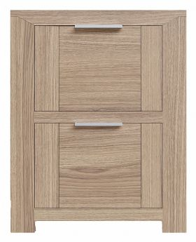 Laguna 2 Drawer Oak Bedside Chest