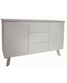 Classic Contemporary Large Cappuccino High Gloss Sideboard