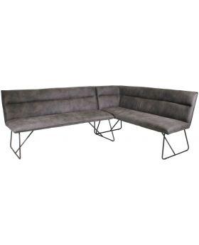 Classic Larson Upholstered Corner Bench - Right Hand