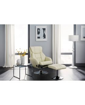 Serene Larvik Leather Recliner