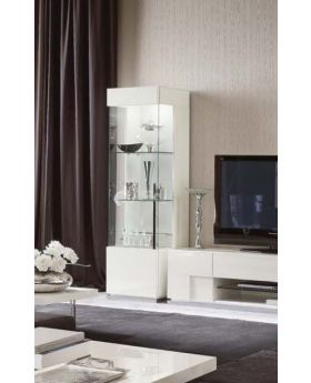 ALF Canova 1 Door Curio Left Display Unit