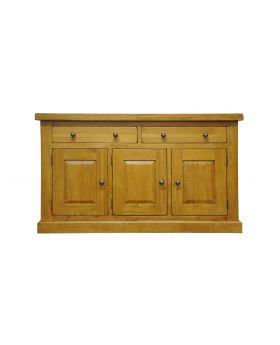 Vessel Warm Oak 3 door 2 drawer Sideboard
