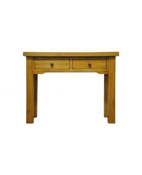 Vessel Warm Oak Console table