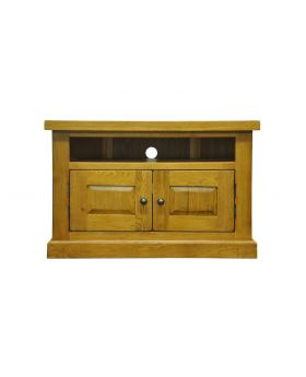 Vessel Warm Oak Corner TV Unit