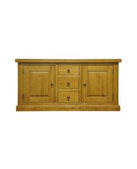 Vessel Warm Oak Large Cupboard
