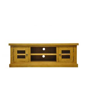 Vessel Warm Oak Large TV Unit