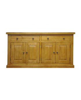 Vessel Warm Oak Small 4 door Sideboard