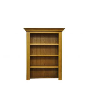 Vessel Warm Oak Small Bookcase top