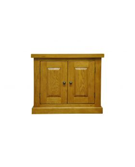 Vessel Warm Oak Small Cupboard