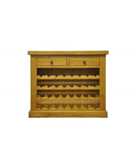 Vessel Warm Oak Wine cabinet