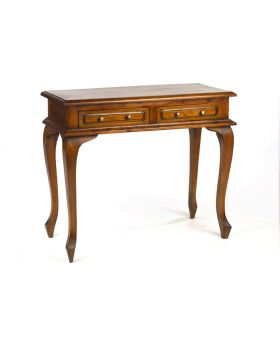 Ancient Mariner Mahogany Village Cab Leg Console Table
