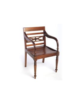 Ancient Mariner Mahogany Village Raffles Chair