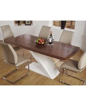 Serene Madrid Walnut Dining Table