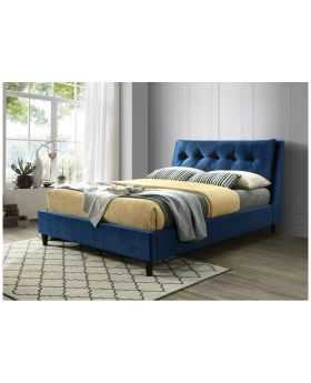 Megan Bed Frame Blue