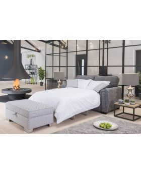 Memphis 2 Seater Sofa Bed Regal (Standard Back) in XE Fabric