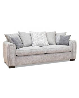 Memphis 4 Seater Sofa (Pillow Back) in XE Fabric