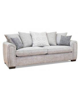 Memphis 4 Seater Sofa (Pillow Back) in XE Fabric