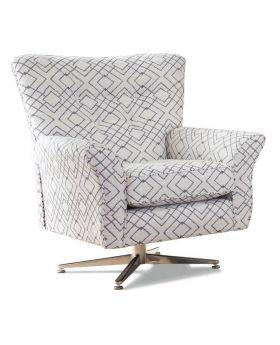 Memphis Swivel Chair in XE Fabric