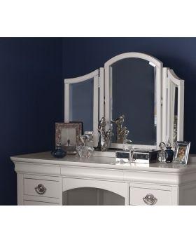Bentley Designs Chantilly White Gallery Mirror