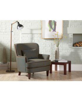Serene Moffat Pattern Fabric Chair