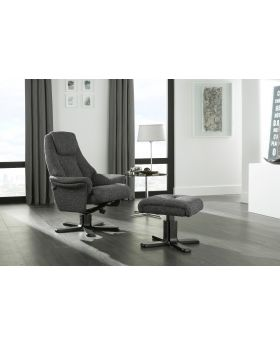 Serene Mysen Fabric Recliner Chair