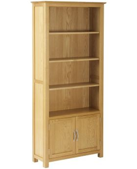 Classic Furniture Nordic Bookcase with Cupboard