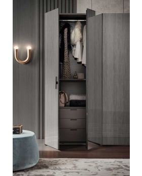 Novecento Bedroom 4 Door Wardrobe