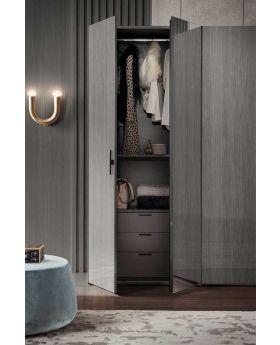 Novecento Bedroom 6 Door Wardrobe