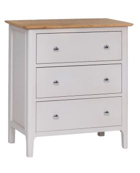 Kettle NTP Bedroom 3 Drawer Chest of Drawers