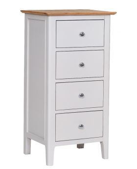 Kettle NTP Bedroom 4 Drawer Narrow Chest