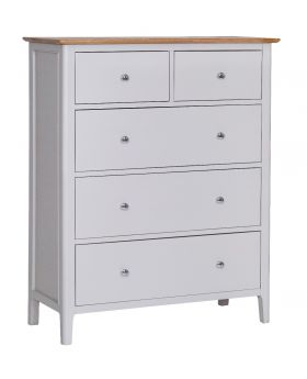 Kettle NTP Bedroom Jumbo 2 Over 3 Chest of Drawers