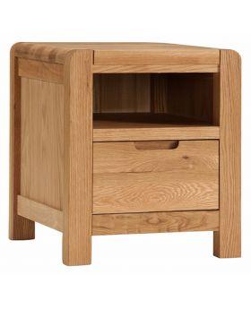Classic Furniture Oslo Oak Bedside Cabinet