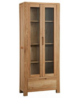 Classic Furniture Norway Oak Display Cabinet