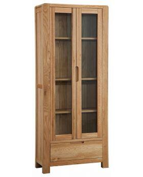 Classic Furniture Norway Oak Display Cabinet