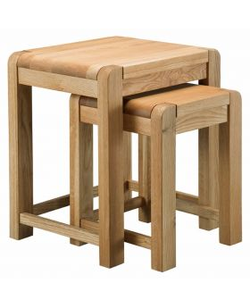 Classic Furniture Norway Oak Nest of Tables